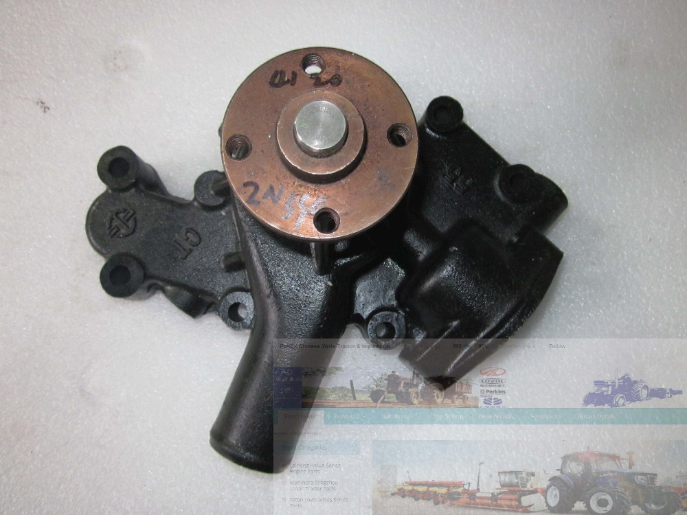 Changchai engine ZN390T for tractor like DF tractor, the water pump, part number:ZN390T-02108 jiangdong engine jd495t for tractor like jinma luzhong etc the water pump part number