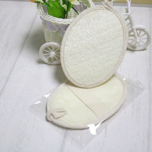 Exfoliating Loofah Pads Natural Luffa and Cloth Materials Sponge Scrubber Brush Skin For Men and Women Bath Spa Shower