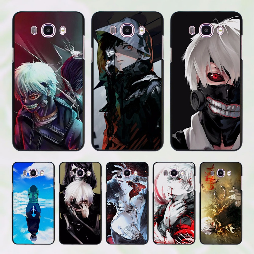 Anime Tokyo Ghouls design hard black Case for Samsung Galaxy J7 J5 2016 J7 Prime J510 J5 Prime J3 J2 2016 J1