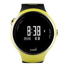 EZON sports activities outside desk clever wearable gadget Bluetooth Watch Men's Black Digital WristwatchesG1A01 desk runners