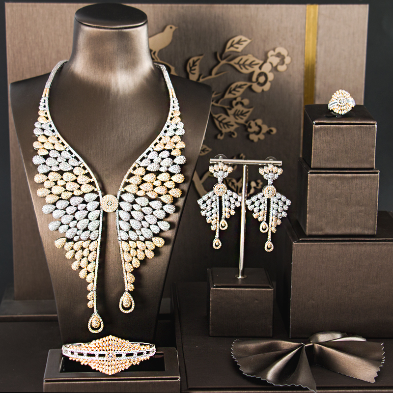 GO5  FASHION jewelry sets WEDDING jewelry accessories bridal jewelry sets WOMEN necklace Zirconia stone necklace WEDDING SETS  GO5  FASHION jewelry sets WEDDING jewelry accessories bridal jewelry sets WOMEN necklace Zirconia stone necklace WEDDING SETS