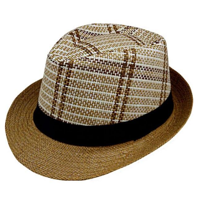 LNPBD Sun Hat Straw Men Beach Summer Fashion Hats For Women Trilby Gangster  Cap Jazz Hats Girl Visor Cap Casual Panama sunhat 135e605c3