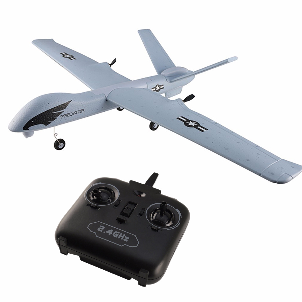 Image 3 - RC Airplane Plane Z51 20 Minutes Fligt Time Gliders 2.4G Flying Model with LED Hand Throwing Wingspan Foam Plane Toys Kids Gifts-in RC Airplanes from Toys & Hobbies