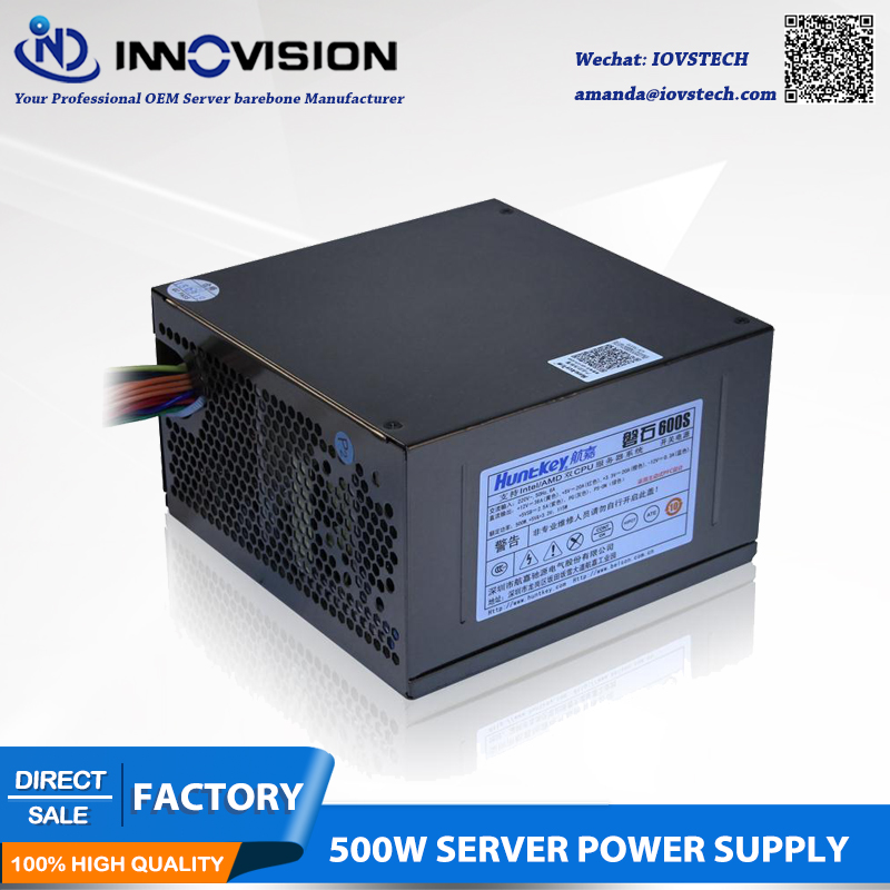Rated 500W server power supply ATX PSU with 10 sata for Intel Dual CPU Amd Dua Opetron server user in PC Power Supplies from Computer Office