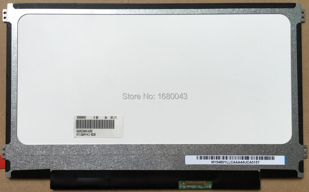 NT116WHM-N11 fit NT116WHM-N21 V4.0 N116BGE-EA2 M116NWR1 R7 EDP 30PINs NEW LED SLIM Display Laptop Screen n116bge ea2 e42 e32 eb2 fit b116xtn01 0 m116nwr1 r7 30pins left right ears edp