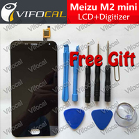 Meizu M2 Mini LCD Display 5 0inch Touch Screen Tools 100 Original HD Digitizer Assembly Replacement
