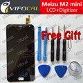 Meizu m2 mini display lcd 5.0 polegada + touch screen + ferramentas de alta qualidade hd de substituição do conjunto digitador para o telefone móvel