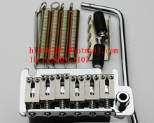 free shipping new electric guitar double wave bridge in chrome  HC-30