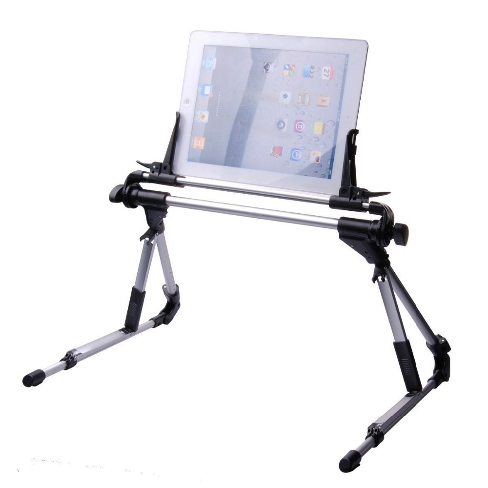 270 Degree Rotatable Tablet Bed Stand Adjustable Portable Foldable Mobile Cellphone Table Holder for iPhone iPad