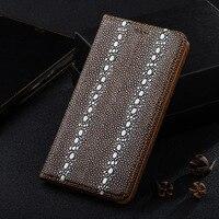 Жемчужина рыбы текстуры кожаный чехол для zte nubia z11 mini s/z11 мини/z11/z11 макс магнит флип стенд мобильный телефон case + подарок