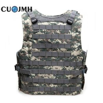 1PC Tactical Vest Mens Tactical Hunting Vest Military Field Airsoft Molle Combat Assault Plate Carrier CS Outdoor Jungle
