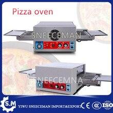 Завода непосредственно продажу 18 «Электрические цепи бытовой гусеничный Печь Для Пиццы с рабочей площадью 530*1450 мм