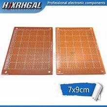 1 шт. 7x9 см 7*9 DIY Прототип бумаги PCB Универсальный Эксперимент Матрица печатной платы hjxrhgal