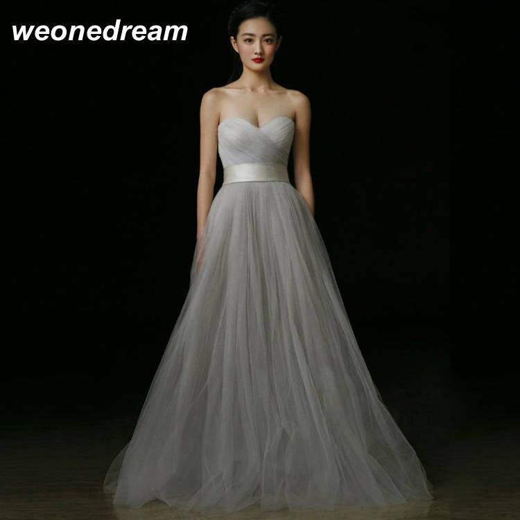 Aliexpress.com : Buy Grey Evening Dresses 2017 Sexy Long Lace ...