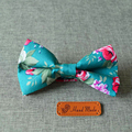 Mantieqingway Moda Casual Do Vintage Floral Festa de Casamento Gravata Gravata Borboleta para os Cavalheiros Algodão Fino Gravatás Laços Para Os Homens