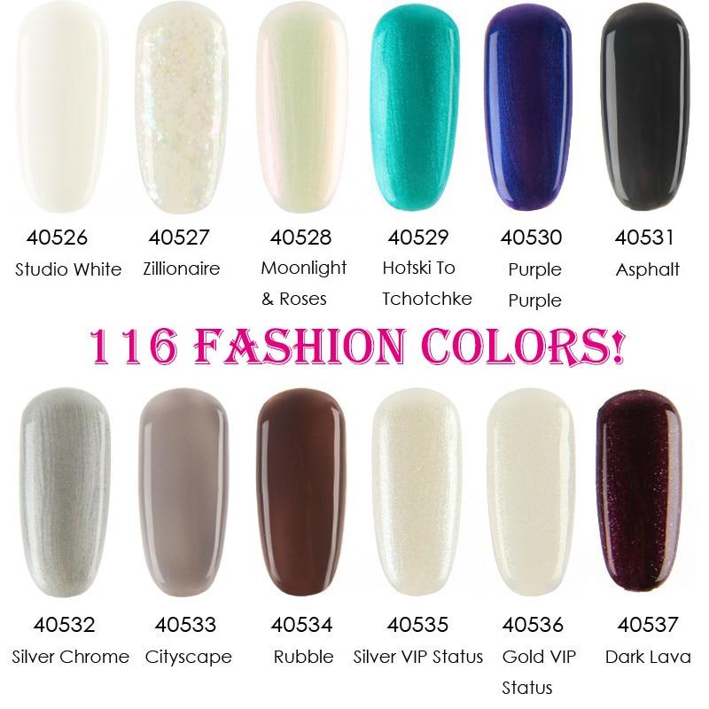 30Pcs lot Gelexus Soak Off UV LED Nail Gel Polish Total116colors The Best Quality Gel Polish