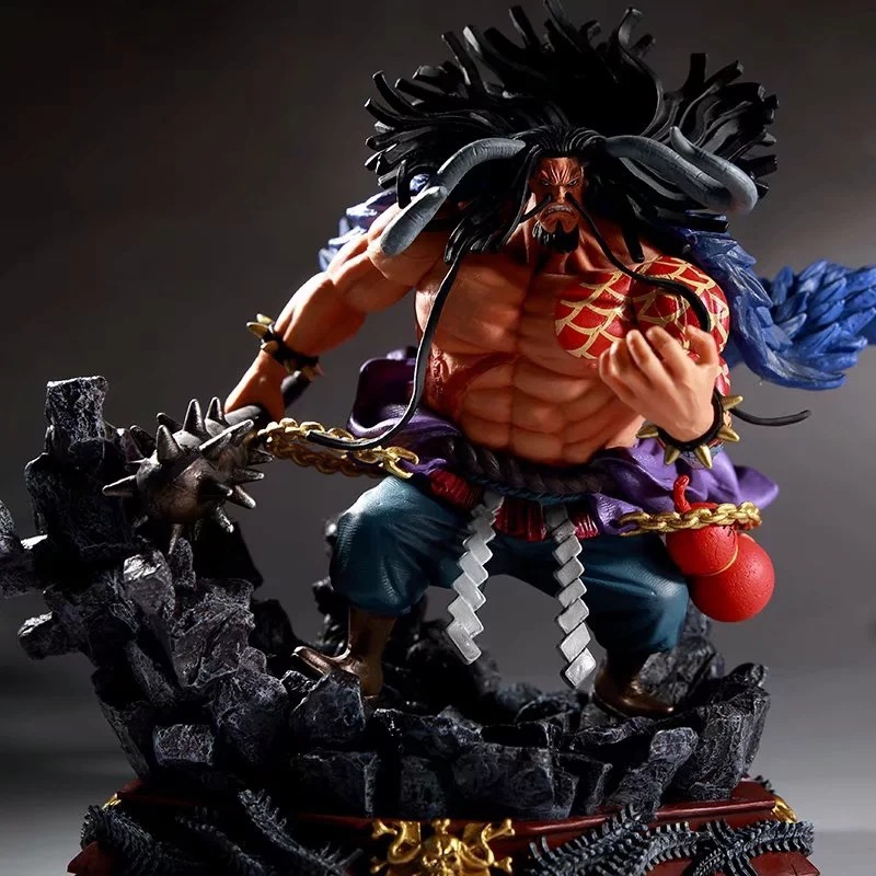 Anime One Piece Big Size Kaido Four Emperors 24cm PVC Action Figure Model Doll Toys