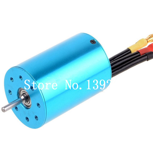 1 pcs 107051 ( 03302 ) Brushless 540 <font><b>Motor</b></font> 3300 KV for RC HSP EP Car <font><b>2s</b></font>-3s Lipo 1/10 Buggy Truck Drifting Flying Fish image