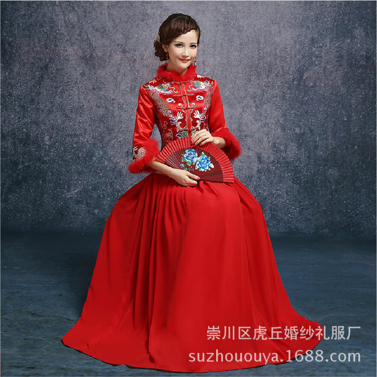 Online Buy Wholesale Chinese Traditional Gown From China Chinese Traditional Gown Wholesalers