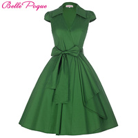 2016 Pin Up Vestidos Plus Size Women Clothing Summer Style Casual Party Office Gown Robe Ete
