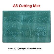 A3 Snijden Mat Plastic PVC Non Slip Self Healing Patchwork Dubbelzijdig Snijden Grens Plaat Pad voor Leer Stof Papier craft