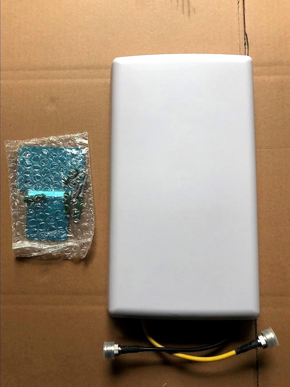 imágenes para Cubierta 2x2 Mimo 3G 4G Antena de Panel LTE 880-2700 MHz MIMO Antena de Banda Ancha