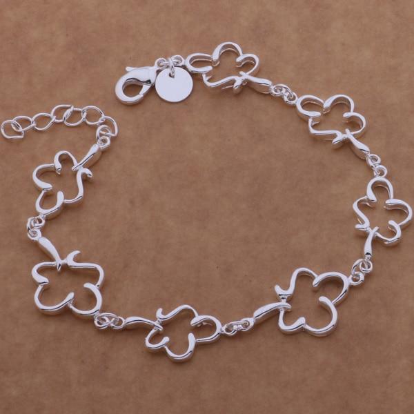 SL-AH132 chapeamento de prata Por Atacado pulseira, 925 carimbado prata  moda jóias tudo o plum blossom afpaiwwa bgqajxxa f8f0b4a22d