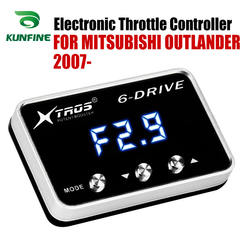 Cammus Throttle Controller 6‑Mode Electronic Bluetooth Windbooster Throttle Response Controller Fit for Mitsubishi Triton ML MN 2006-2014 IB4S301