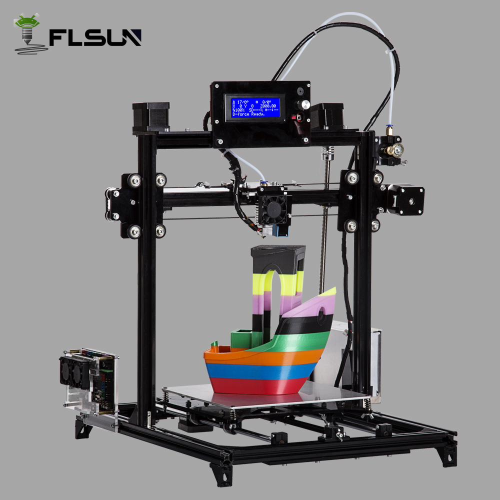 Flsun I3 DIY 3D Printer kit Large Printing Area 300 300 420mm Open Build Aluminium