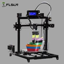 Flsun I3 DIY zestaw Duży Obszar Wydruku Drukarki 3D 300*300*420mm Otwarty Budować Aluminium
