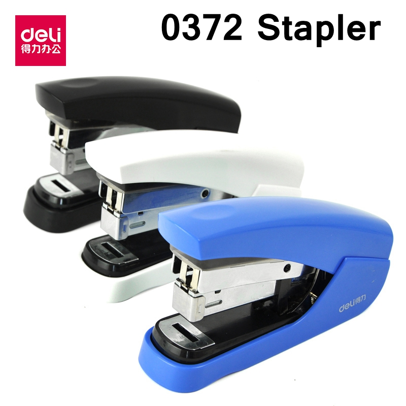 Deli Manual-Stapler Hand-Paper Papers-Capacity Binding 25 Readstar Match Match