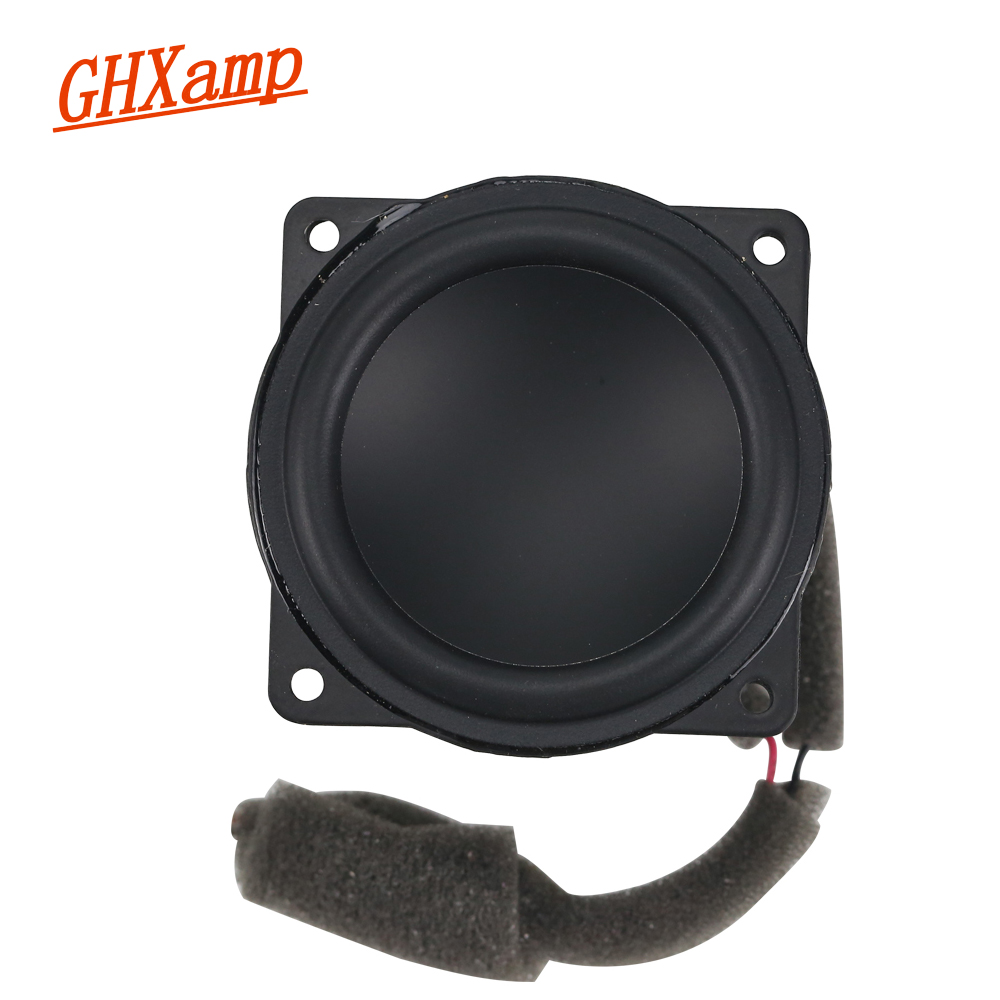 GHXAMP 2 Inch 4OHM 10W 20W Full Range Speaker Woofer Home Theatre Speaker Rubber Bluetooth Diy Voices Really Super-toxic 1 Pairs