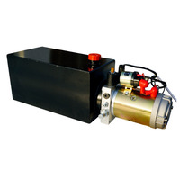 High Quality Single Acting Hydraulic Pump 10L 12V Dump Trailer 10 Quart 3200 PSI Max