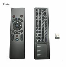 Ewwke T6 удаленного Управление с клавиатурой мини Беспроводной 2,4 ГГц T6 Fly Air Мышь тачпад комбо для Android ТВ Box/PC красочный