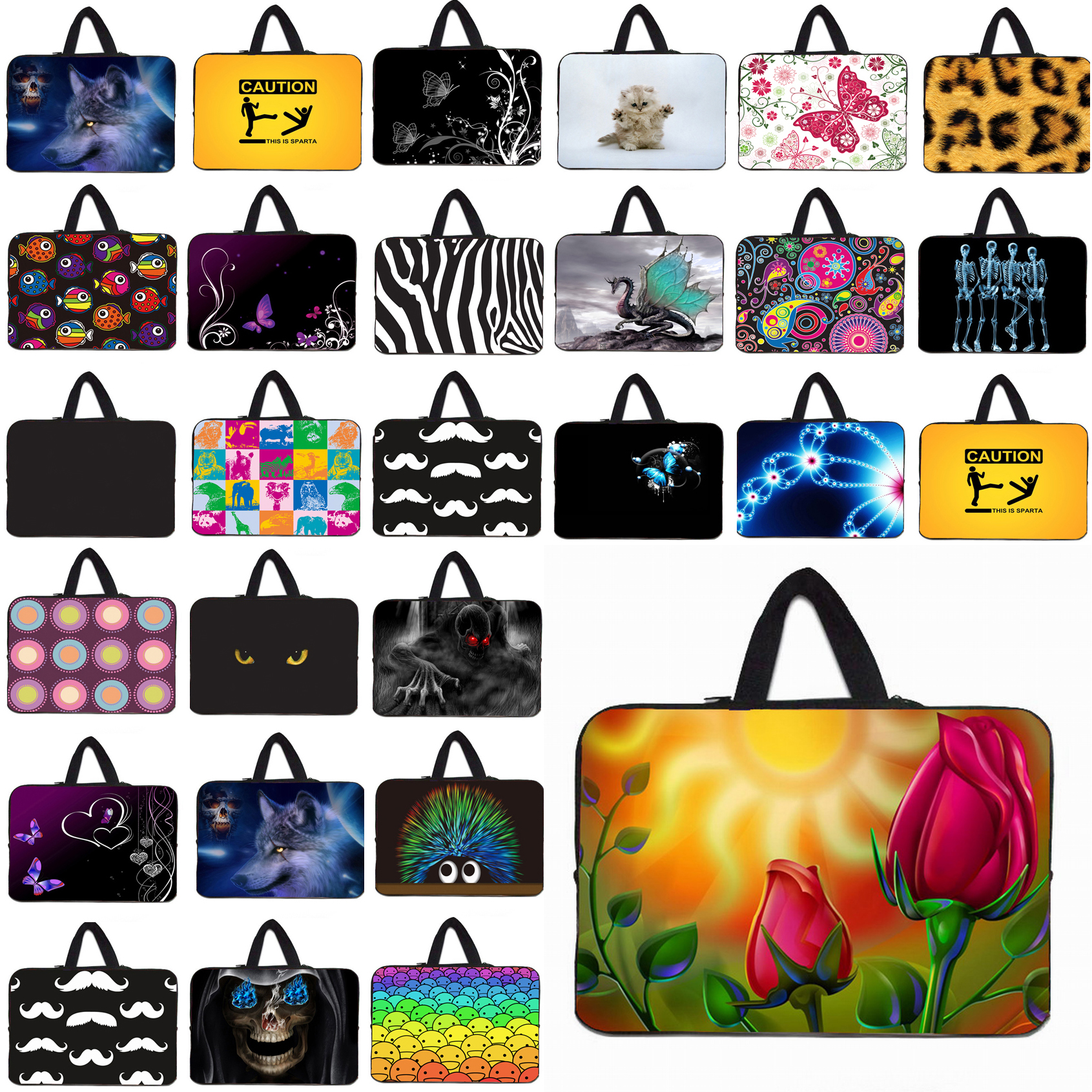 10 Portable Tablet 10.1 9.7 Inch Mini PC Protector Briefcase Fashion Laptop Cases Pouch Bag Notebook Computer Bag For Women