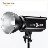 Godox Strobe DP400II 400 Вт Studio Professional Flash со встроенной системой Godox 2.4g беспроводное устройство X для предложения творческой фотографии