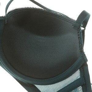 Image 5 - Varsbaby Womens bra set gathered sexy lace comfortable underwear