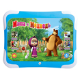 3D Learning Computer Tablet Pad Toy Masha And Bear Kids Study Pad Children'S Electronic Music Toys Electronic Learning Machine