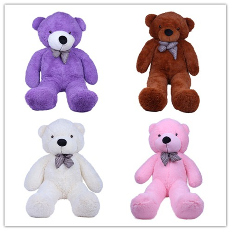 Wholesale 180cm Teddy Bear Plush Toy High Quality And Low Price Stuffed Teddy Bear Holiday/Birthday/Valentine Gift 2017 new year teddy bear plush toys high quality and low price skin holiday gift birthday gift valentine gift stuffed animals