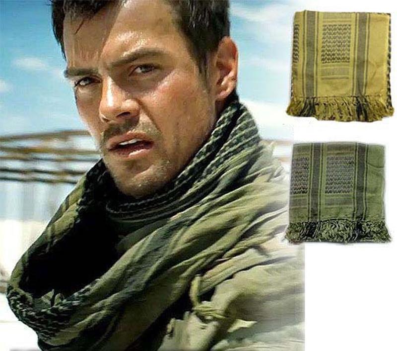 Shemagh armija Militārā galvas šalle Keffiyeh Scarve Palestīna Desert kokvilnas musulmaņu Hijab Thicken Islāma Wrap bandana sq303