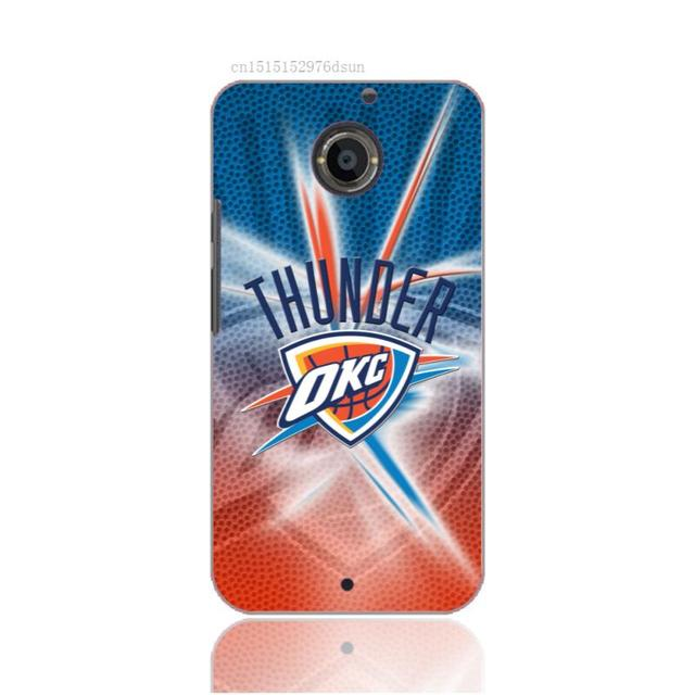 Phone Case For Basketball OKC Thunder Logo Design 3D Painted Cover Motorola M9X3X2G2