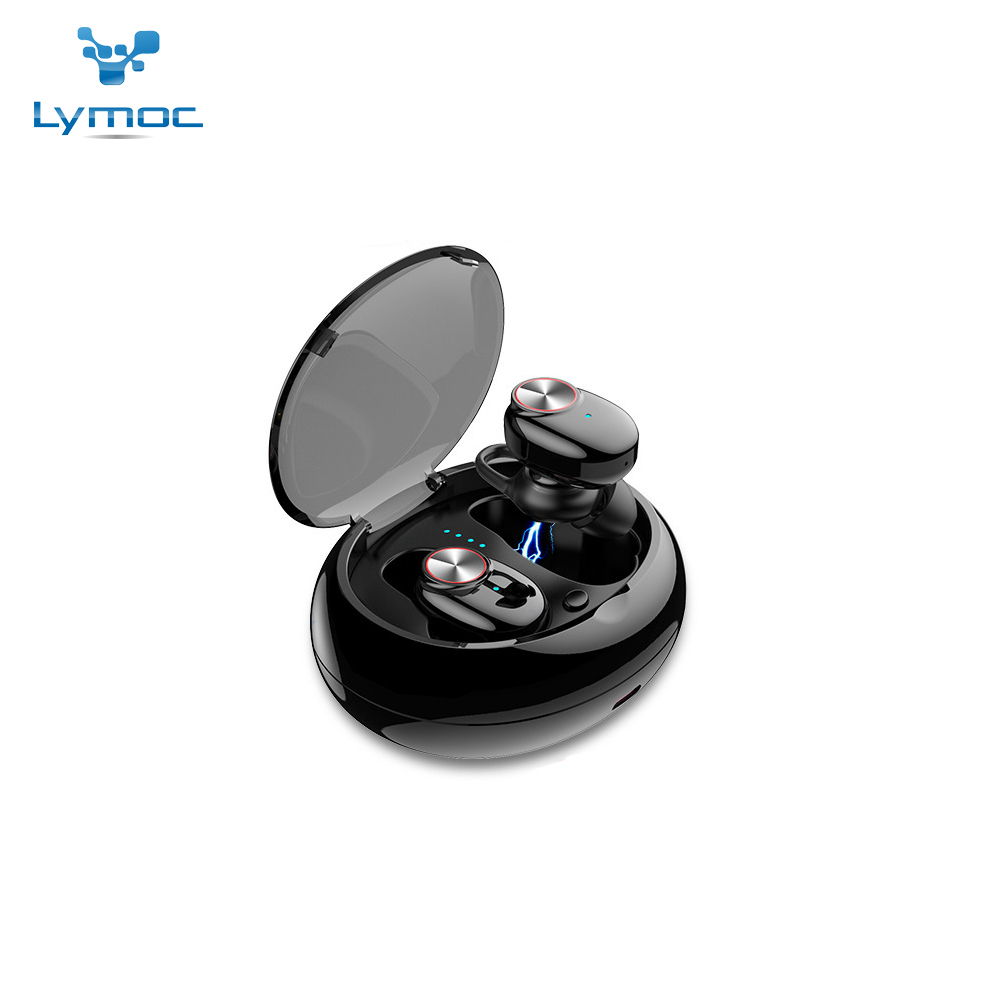 LYMOC Bluetooth Earphones Wireless <font><b>TWS</b></font> Earbuds 5.0 Stereo Noise Cancelling In-ear Headsets With Mic for iPhone and Android Phone image