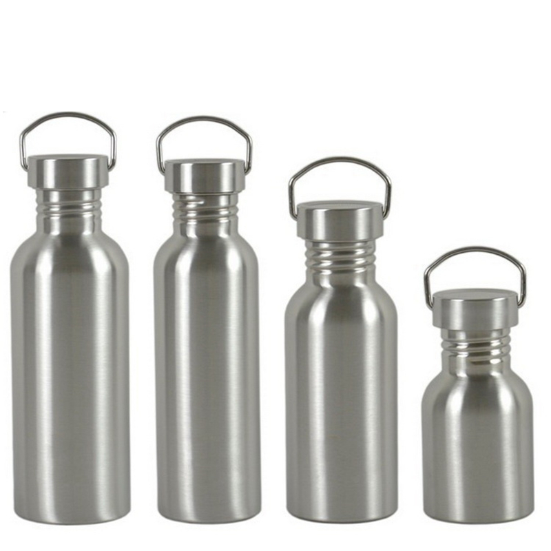 EDC Camping Storage Tools Stainless Steel Sport Travel Mug Cup Hiking Cycling Outdoor Portable Bottle Large Capacity