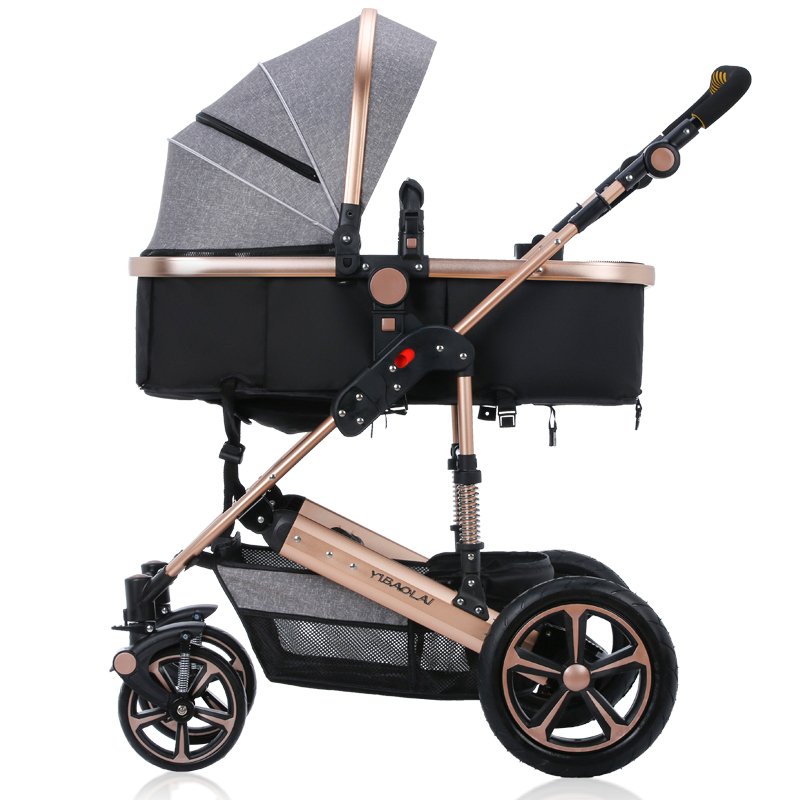 Shockproof Baby Stroller bebek arabasi High Landscape Baby Carriage Prams For Newborn Folding Child Pushchair For 0~3 Years Old