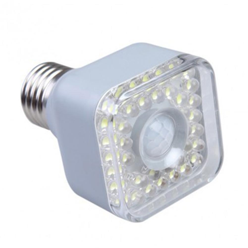 LumiParty 220-240V E27 LED Night Light PIR Sensor Human Body Induction Corridor Passageway Toilet Lamp Decoration
