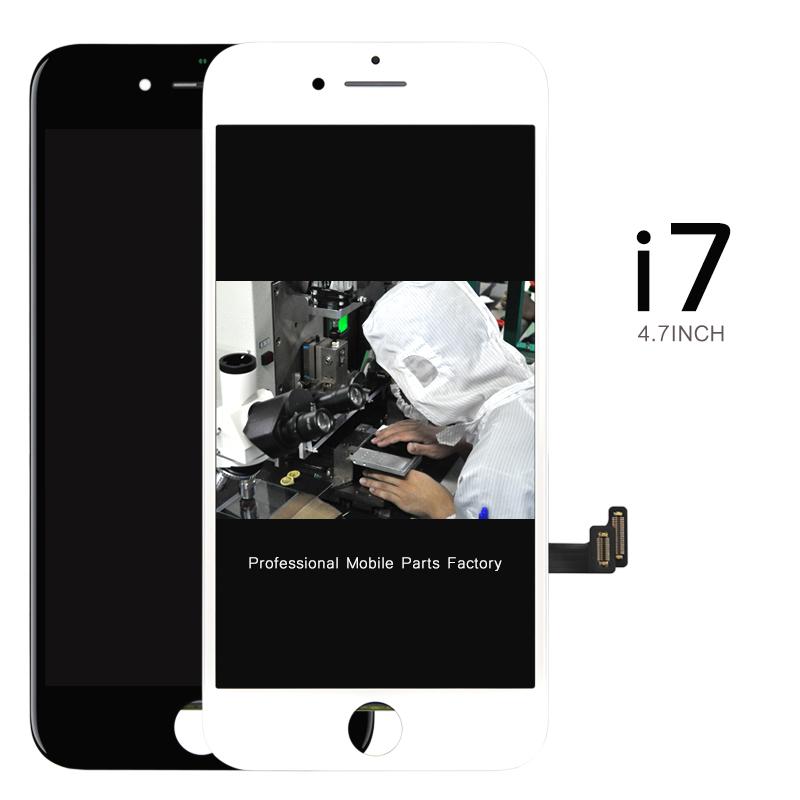 Prix pour 2 pcs DHL AUCUN pixel Mort LCD Affichage Pour iPhone 7 LCD Écran Tactile Digitizer Écran avec Cadre DHL + USB Cadeau
