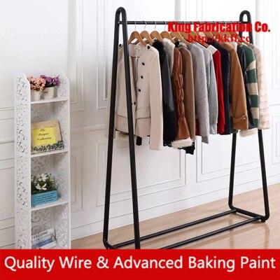 40Designs Iron Clothes Rack Clothing Shop Rack Garment Rack Metal Interesting Coat Hanger Rack