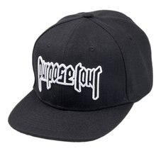 6035e2a105f Purpose Tour Cap 3D Embroidered Baseball Cap Brand New Style Justin Bieber  Hat High Street Dark Fans Cap Men Women Hip-Hop cap