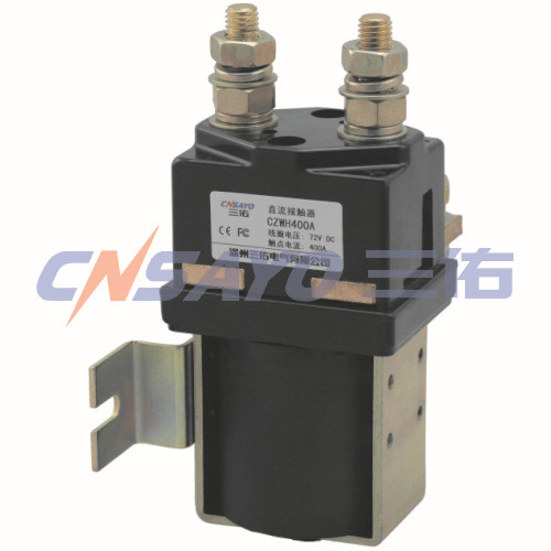 CZWH400A dc contactor sayoon dc 12v contactor czwt150a contactor with switching phase small volume large load capacity long service life