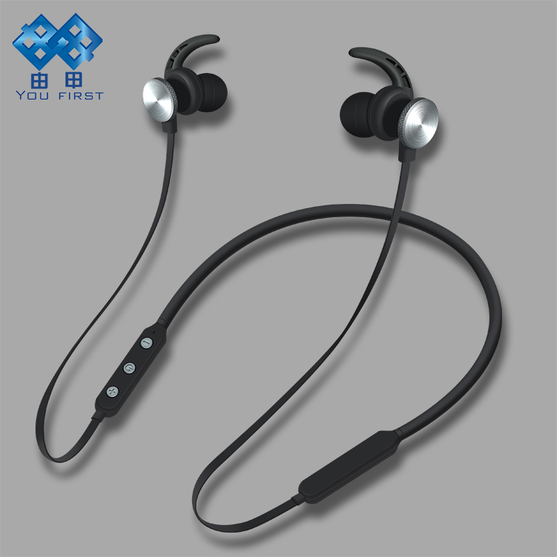 YOU FIRST Wireless Bluetooth Headset Sport Stereo Headphone Neckband Handsfree With Mic Wireless Earphones For Mobile Phone 2016 new brand fashion metal bluetooth earphone hifi stereo wireless sport headset handsfree headphone with mic for mobile phone